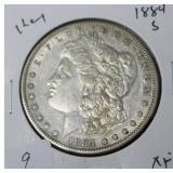 1884 S MORGAN DOLLAR  XF KEY DATE