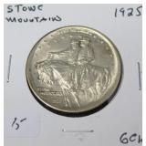 1925 STONE MTN HALF DOLLAR  GEM BU