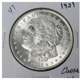 1921 MORGAN DOLLAR CHOICE BU