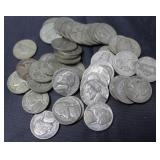 ROLL OF SILVER WARTIME NICKLES