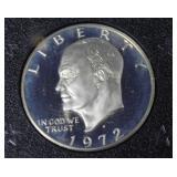 1972 S PROOF SILVER GSA IKE DOLLAR