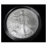 2007 W SILVER EAGLE W BOX PAPERS