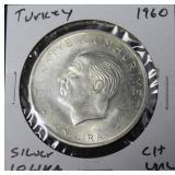 TURKEY SILVER 10 LIRA