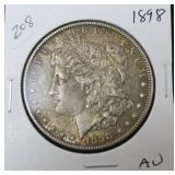 1898 MORGAN DOLLAR  AU