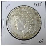 1885 MORGAN DOLLAR  XF