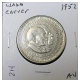 1952 WASHINGTON CARVER HALF AU