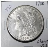 1900 MORGAN DOLLAR CHOICE BU