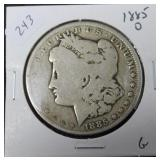 1885 O MORGAN DOLLAR  G