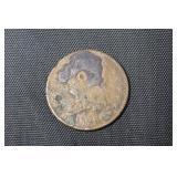 1828 HALF CENT   AG