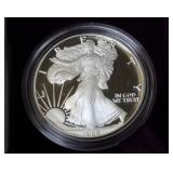 1986 PROOF SILVER EAGLE