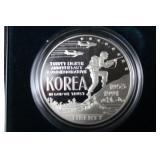 U.S. KOREAN WAR MEMORIAL COIN