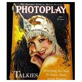 Photoplay Magazine (Earl Christy Artwork Cover)- July 1929