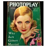 Photoplay Magazine (Earl Christy Artwork Cover)- August 1929