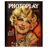 Photoplay Magazine (Earl Christy Artwork Cover)- October 1929
