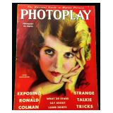 Photoplay Magazine (Earl Christy Artwork Cover)- February 1930