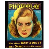 Photoplay Magazine (Earl Christy Artwork Cover)- August 1930