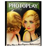 Photoplay Magazine (Earl Christy Artwork Cover)- March 1931