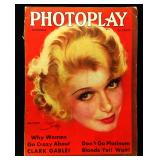 Photoplay Magazine (Earl Christy Artwork Cover)- Novmeber 1931