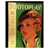 Photoplay Magazine (Earl Christy Artwork Cover)- June 1932
