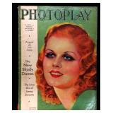 Photoplay Magazine (Earl Christy Artwork Cover)- August 1932
