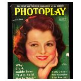 Photoplay Magazine (Earl Christy Artwork Cover)- December 1932