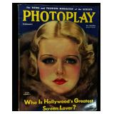 Photoplay Magazine (Earl Christy Artwork Cover)- February 1933