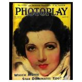 Photoplay Magazine (Earl Christy Artwork Cover)- March 1933
