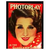 Photoplay Magazine (Earl Christy Artwork Cover)- April 1933