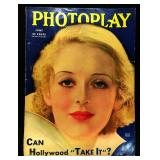Photoplay Magazine (Earl Christy Artwork Cover)- June 1933
