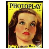 Photoplay Magazine (Earl Christy Artwork Cover)- August 1933