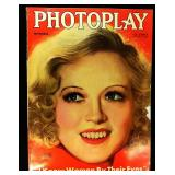 Photoplay Magazine (Earl Christy Artwork Cover)- September 1933