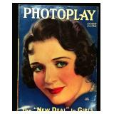 Photoplay Magazine (Earl Christy Artwork Cover)- October 1933