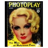 Photoplay Magazine (Earl Christy Artwork Cover)- November 1933