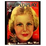 Photoplay Magazine (Earl Christy Artwork Cover)- December 1933