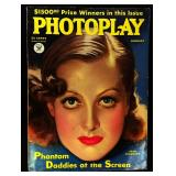Photoplay Magazine (Earl Christy Artwork Cover)- January 1934