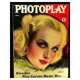 Photoplay Magazine (Earl Christy Artwork Cover)- June 1934
