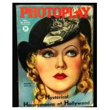 Photoplay Magazine (Earl Christy Artwork Cover)- July 1934