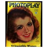 Photoplay Magazine (Earl Christy Artwork Cover)- August 1934