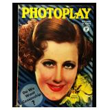 Photoplay Magazine (Earl Christy Artwork Cover)- October 1934