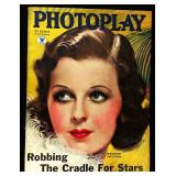 Photoplay Magazine (Earl Christy Artwork Cover)- November 1934