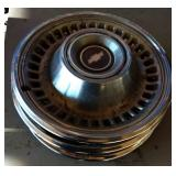 Set of Vintage Hubcaps