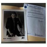Ricky Skaggs Signed Photograph