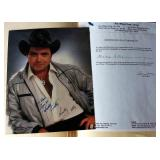 Mickey Gilley Signed Photograph