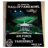 Vandy vs. Air Force 1982 Program