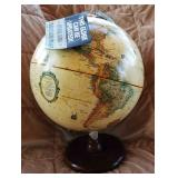 Vintage World Globe with Tag