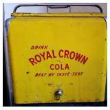Vintage Royal Crown Cola Picnic Cooler