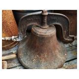 1886 Cast Iron Dinner Bell