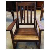 Vintage Primitive Chair