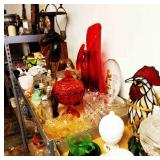 Various Lots of Vintage Glass