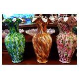 Vintage Fenton Vases